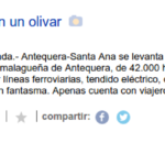 MNM miente: La falsa corrupción de la estación de Antequera